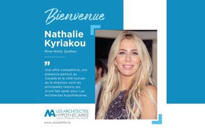 Nathalie Kyriakou a choisi AH!